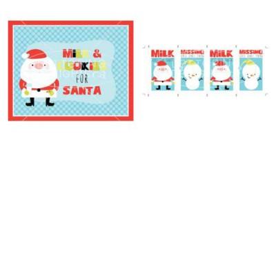 Little Ho-ho-ho-ligans - Santa's Milk - PR