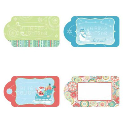 Swell Noel Gift Tags - GS