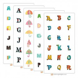2012 Top Ten Alphabets
