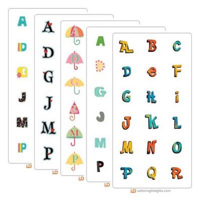 2012 Top Ten Alphabets