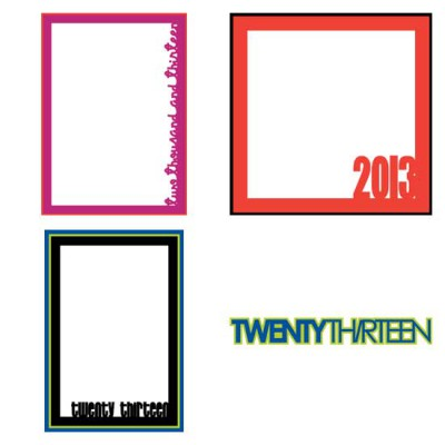 2013 Calendar Builder Frames - CS
