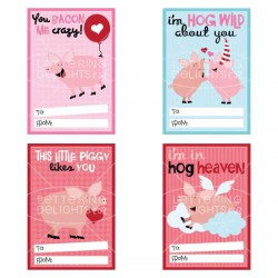 Hogs and Kisses - Valentines - PR