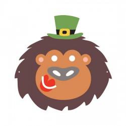 Kiss Me I'm Irish Mask - CP