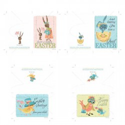 Chicksters and Hopsters - Cards and Invites - PR