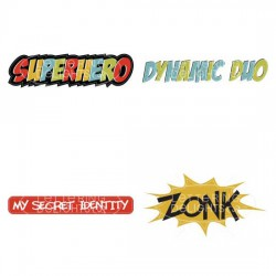 Superhero Action Words - GS
