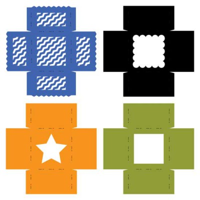 Square Gift Box - CP