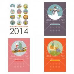 Hip Hip Hooray Everyday Calendar - PR