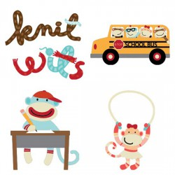 Knit Wits in School - CS