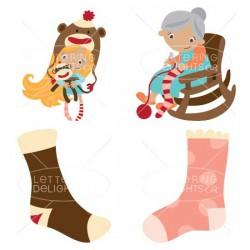 Knit Socks - CS