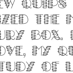 LD Squiggle - Font