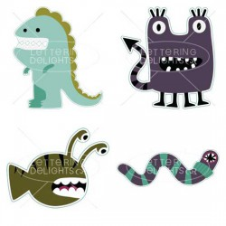 Mouthy Monsters - GS