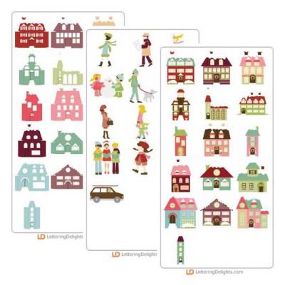 Christmas Village Cut it Bundle