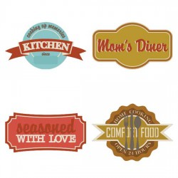 Country Kitchen Labels - CS