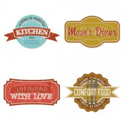 Country Kitchen Labels - GS