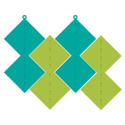 Ornamental Ornament Double Diamond - CP