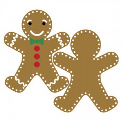 Stitched Gingerbread - CP