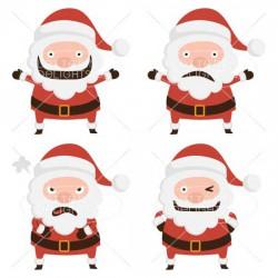 Santa Emoticons - GS