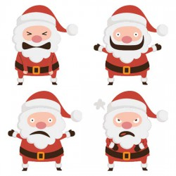 Santa Emoticons - CS