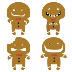 Gingerbread Emoticons - CS