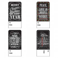 Chalked Holiday Tags - PR