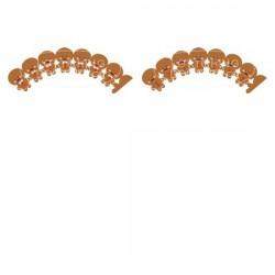 Gingerbread Cupcake Wraps - PR