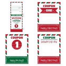 Kids Christmas Matchbook Coupons - PR