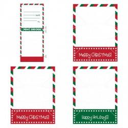 Kids Blank Christmas Matchbook - PR
