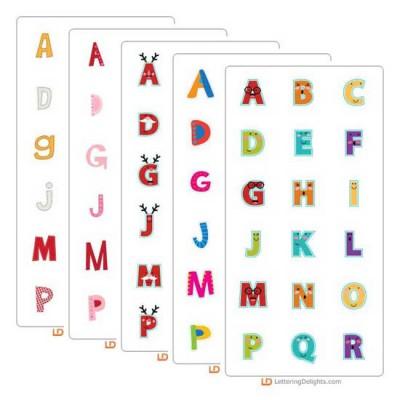 Top Ten Alphabets of 2013