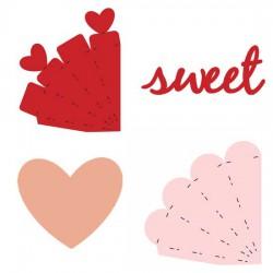 Valentine Cone Boxes - CP