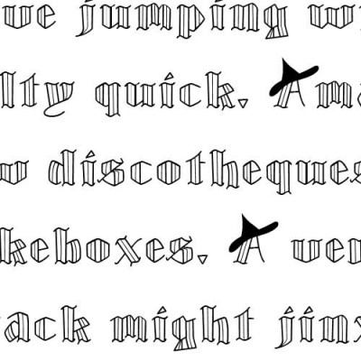 LD Witchy - Font