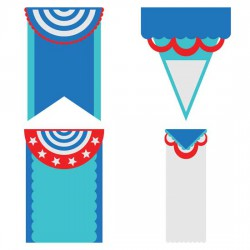Layered Party Banners - CP