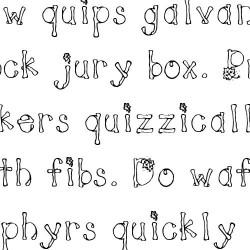 LD Leaves - Font
