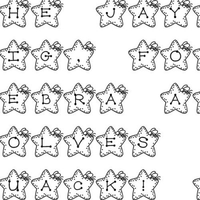 LD Stars - Font