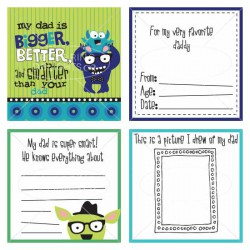Monster and Me - Dad Book - PR