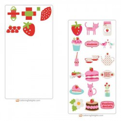 Strawberry Kisses Cut Bundle