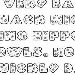 LD Owie - Font
