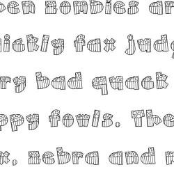 Doodle American - Font
