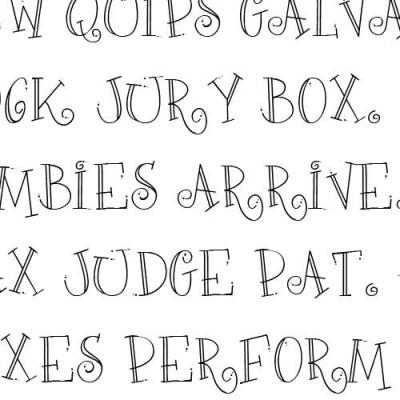 Doodle Do - Font