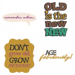 I Wanna Grow Old With You Sentiments - CS