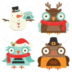 Happy Owl-idays - GS