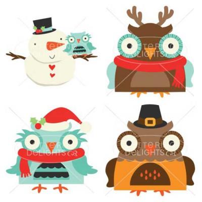 Happy Owl-idays - GS