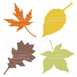 Wee Gather Together Leaves - CS