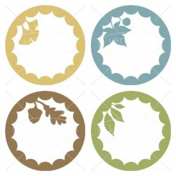 Wee Gather Together Leaf - Labels - CS