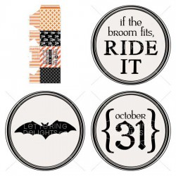 Something Wicked Party Printables - PR