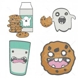 Milk and Spookies - GS