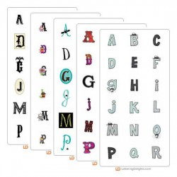 Monstrous Top Ten Alphabets