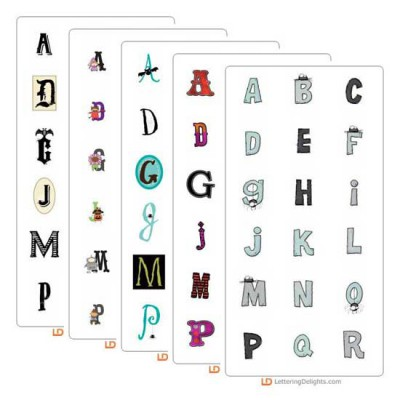 Monstrous Top Ten Alphabets