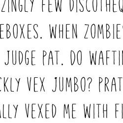 LD Skinny Pinny - Font