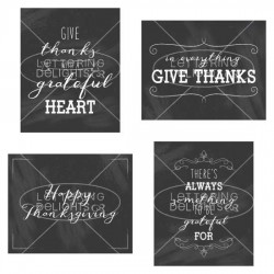 Give Thanks Printables - PR