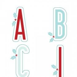 Christmas Card Elements - AL